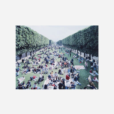 Massimo Vitali, 'Picnic Allee (from the Landscapes with Figures portfolio)', 2006