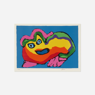 Karel Appel, 'Blue Eyed Creature', 1971