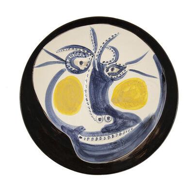 Pablo Picasso, 'Visage 60 (A.R.448)', 1960