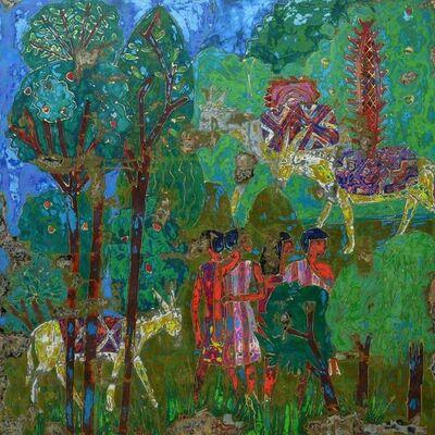 Ibrahim Khatab, 'Fields of Joy l', 2020