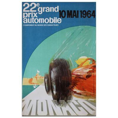 Event Poster, 'Monaco Grand Prix 1964', 1964