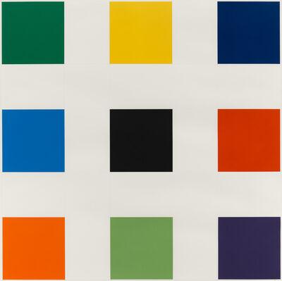 Ellsworth Kelly, 'Nine Squares', 1976-1977