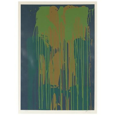 Larry Poons, 'Green rush', 1979