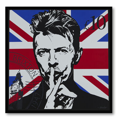 Boudro, 'Bowie Stamp', 2020