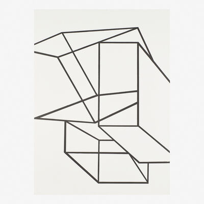 Al Held, 'Untitled (Cubes)', 1969