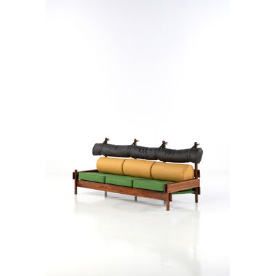"Sergio Rodrigues, 'Model ""Tonic"" - Sofa', 1965"
