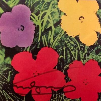 Andy Warhol, 'Flowers Invitation Card', 1970