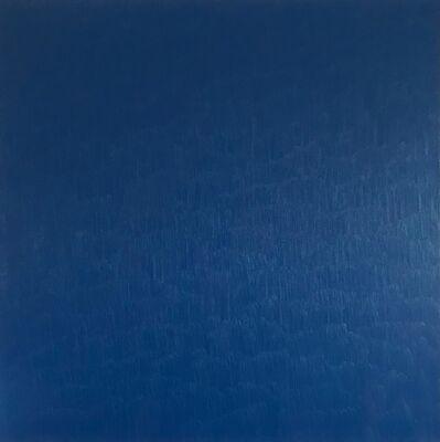 Marcia Hafif, 'Heliogen Blue', 1999