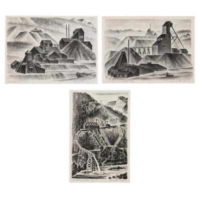 Arnold Ronnebeck, '[Mining Scenes]', 1932-37