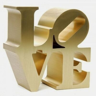 Robert Indiana, 'LOVE (Gold)', c. 2009