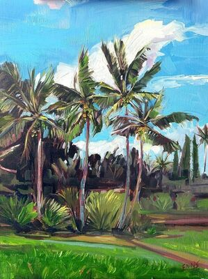 Christian Enns, 'Coco Palms', 2018