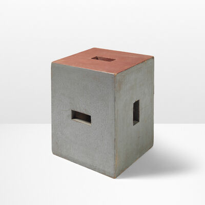 Le Corbusier, 'Rare stool from Unite d'habitation, Nantes-Reze', 1954-1955