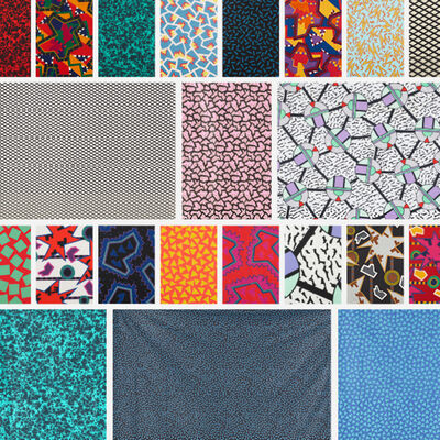 Memphis, 'Collection of fabric and fabric swatches'