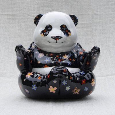 Patrick Malinguaggi, 'Panda Zen - Flowers', 2019