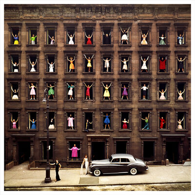 Ormond Gigli, 'Girls in the Windows, New York', 1960