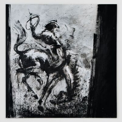 Richard Hambleton, 'Horse & Rider', 2011