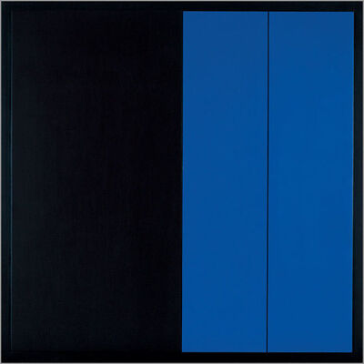 Ivan Picelj, 'Black and Blue Surface', 1977-1978