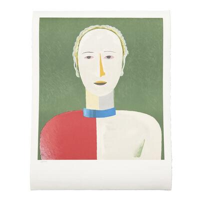 "Kasimir Severinovich Malevich, '""Portrait of a Female"" Lithography', 1992"