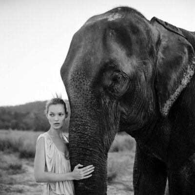 Arthur Elgort, 'Kate Moss, Nepal, Vogue UK', 1994