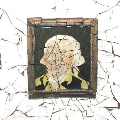 Valerie Hegarty, 'Cracked George', 2018