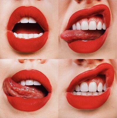 Tyler Shields, ' 4 Red Lips', 2021