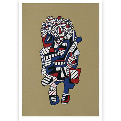 Jean Dubuffet, 'Presences Fugaces series: Celebrator', 1973