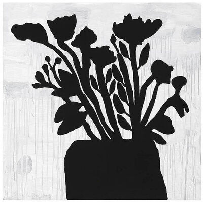 Donald Baechler, 'Flowers in Vase', 2009