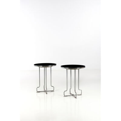 Axel Einar Hjorth, 'Pair of side tables', 1943