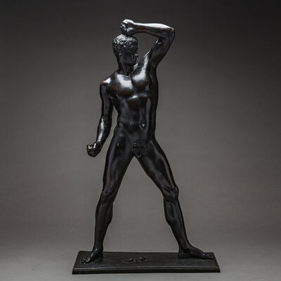 Antonio Canova, 'Bronze Sculpture Of An Athlete', 1792