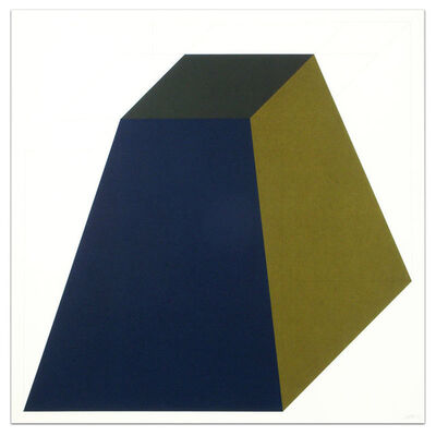 Sol LeWitt, 'Forms Derived from a Cube (Colors Superimposed), Plate #04', 1991