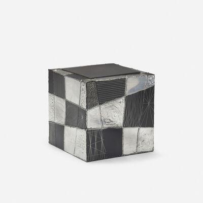 Paul Evans (1931-1987), 'Argente cube table, model PE 37', c. 1965