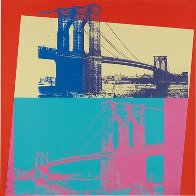 Andy Warhol, 'Brooklyn Bridge', 1983