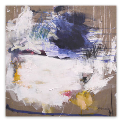 Daniela Schweinsberg, 'A Breath of Summer VI (Abstract Expressionism painting)', 2019