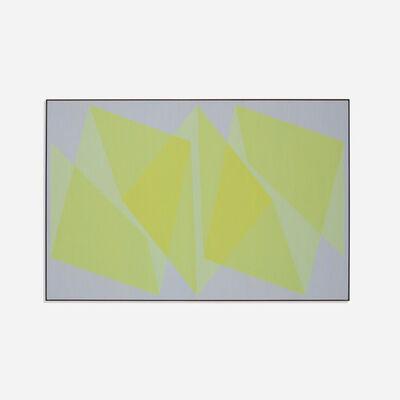 Julian Stanczak, 'Unishape', 1970