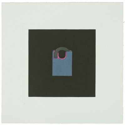 Michael Craig-Martin, 'The Catalan Suite I - Padlock', 2013