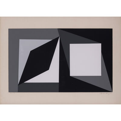 Victor Vasarely, 'Hommage à Malevitch', 1961