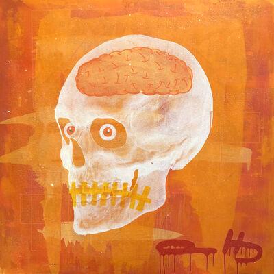Al Baseer Holly (ABH), 'Orange Skull', 2018