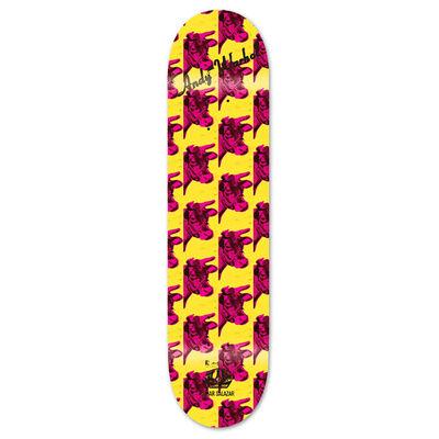 Andy Warhol, 'Andy Warhol Cow Skateboard Deck 2010 (New) ', ca. 2010