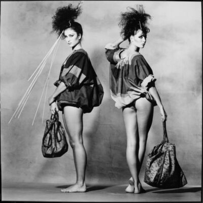 Irving Penn, 'Andie MacDowell and Kelly LeBrock', 1980
