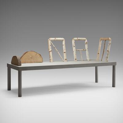 Andrea Branzi, 'Animali Domestici bench', 1985/2008
