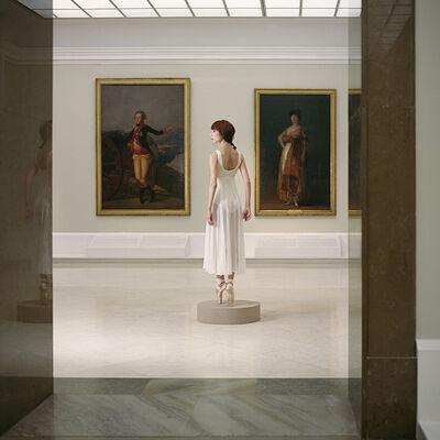 Valery Katsuba, 'Ballerina and Goya Paintings', 2016