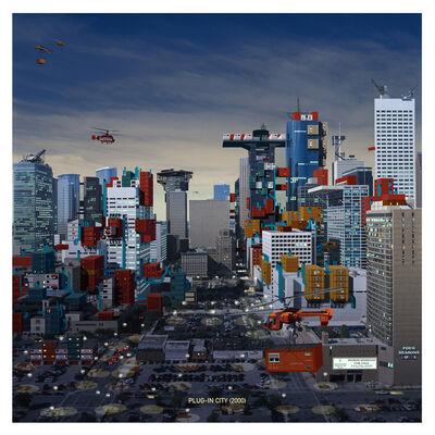 Alain Bublex, 'Plug-in City (2000) - Houston Evening', 2005