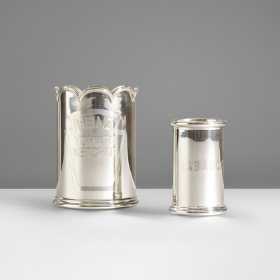 Asprey & Co., 'Heinz Ketchup and Tabasco Holders', c. 2010