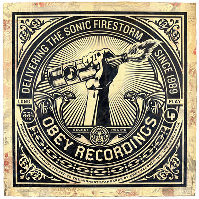 Shepard Fairey, 'Sonic Firestorm (Edition 5/10)', 2013