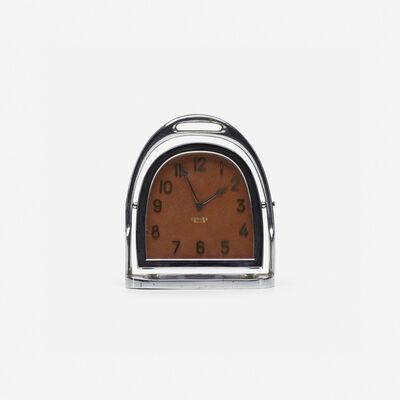 Hermès, 'desk clock', c. 1935