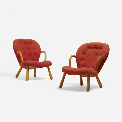 Philip Arctander, 'Armchairs, Pair', 1944