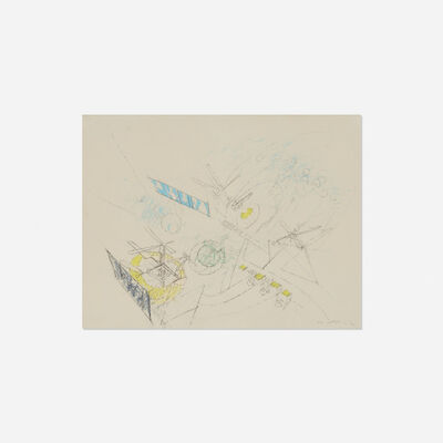 Roberto Matta, 'Untitled (Study for Painting)', 1960