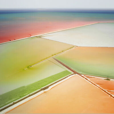 David Burdeny, 'Saltern Study 6, Great Salt Lake'
