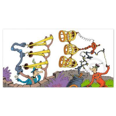 Dr. Seuss, 'Dr. Seuss, Triple Sling Jigger', 1999