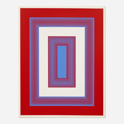Richard Anuszkiewicz, 'Red, White and Blue (from the 1776 USA 1976: Bicentennial Prints portfolio)', 1975